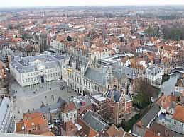 Burg square, in Brugge
